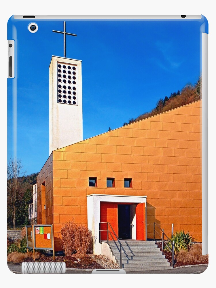 The village church of Obermühl 1 | architectural photography by Patrick Jobst