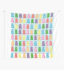 Gummy bear print pillow Wall Tapestry