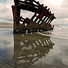 Wreck of Peter Iredale 2 by Leon Heyns