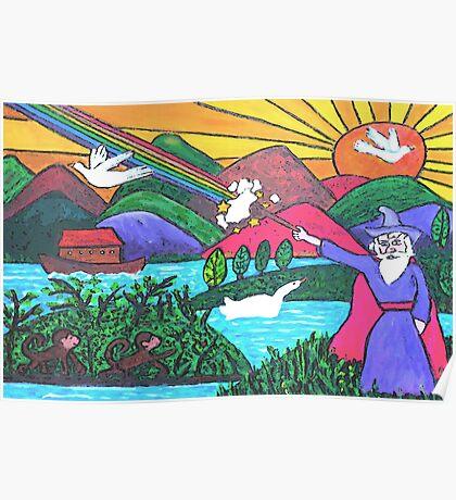Rainbow Wizardry Poster