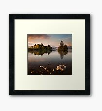 Lough Eske Calm Framed Print
