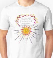 Dissolving Like The Setting Sun Unisex T-Shirt