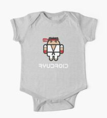 Ryu from Street Fighter goes Google Android Style Kids Clothes