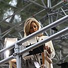 Mary Nightingale of the ITV news by Marie Brown ©