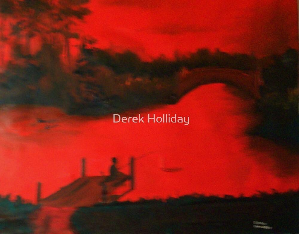 red worms by Derek Holliday
