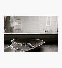 Nobody Home  Photographic Print