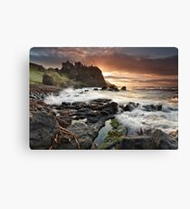 Dunluce Castle - Co Antrim Canvas Print