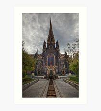 St Patrick's Cathedral • Melbourne • Australia Art Print