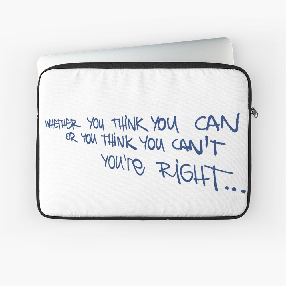 If you think... Laptop Sleeve