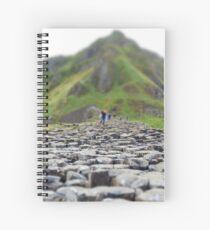 Giants Causeway Spiral Notebook