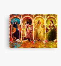 Joy Faith Hope & Love Canvas Print