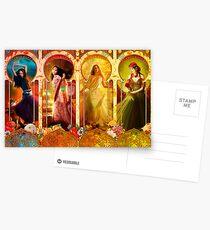 Joy Faith Hope & Love Postkarten