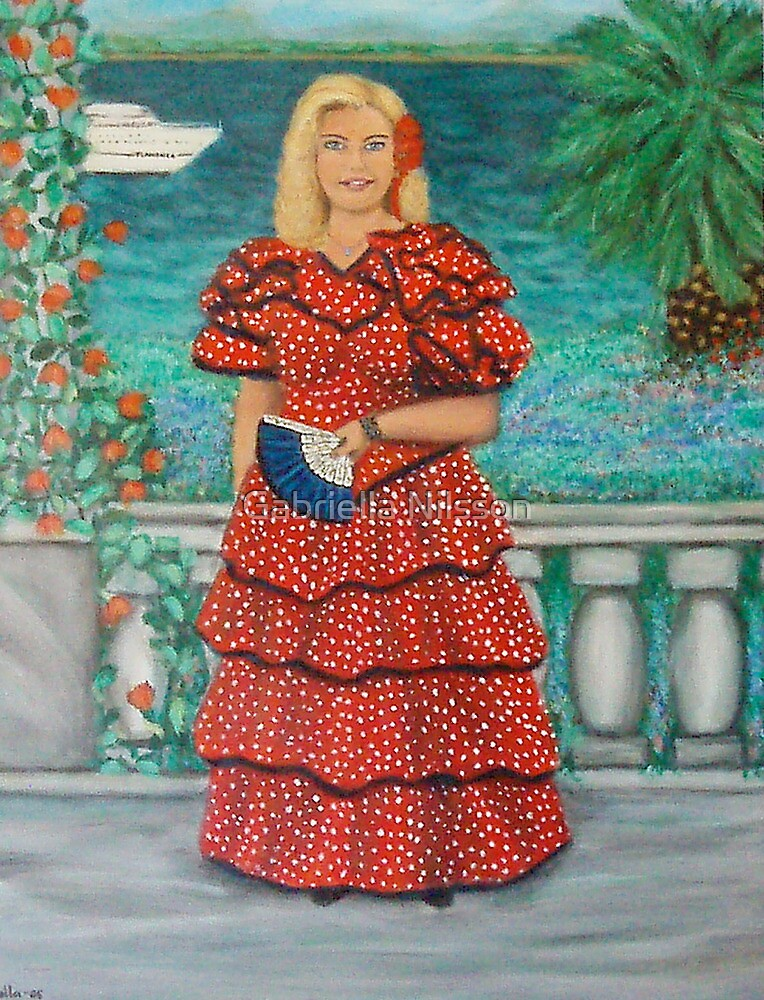 """Queen of Flamenco"" by Gabriella Nilsson"