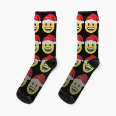 OMG Santa Coming  Socks