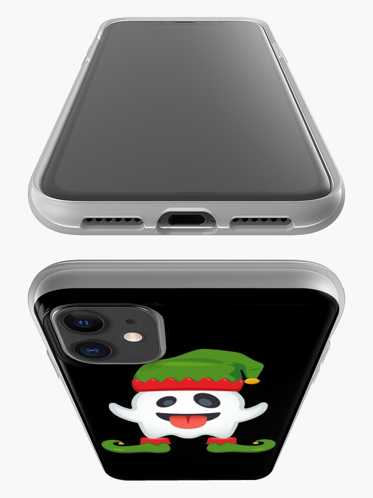 Alternate view of OMG Santa Coming iPhone Case & Cover