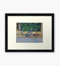 Vintage Bicycles Framed Print