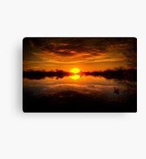 Dreamy Sunset II Canvas Print