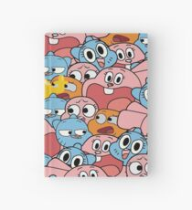 The Amazing World Of Gumball Wattersons Pattern Hardcover Journal