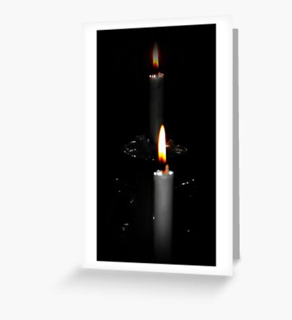 Candle ambiance Greeting Card