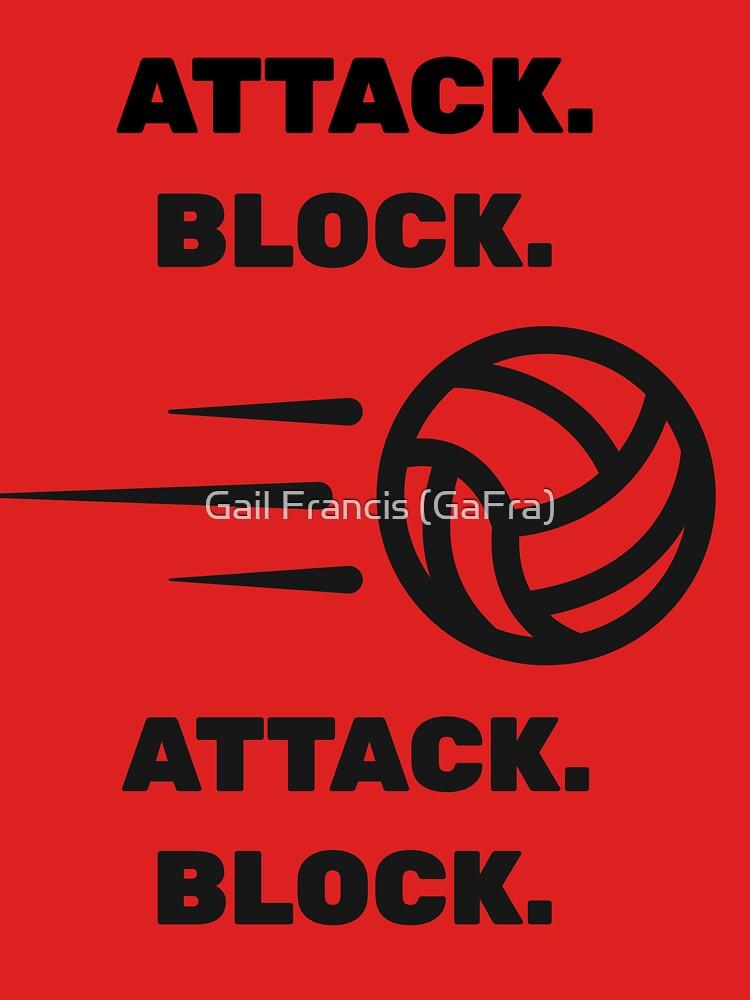 Attack Block, Attack Block Soccer Tee by TriniArtStudio