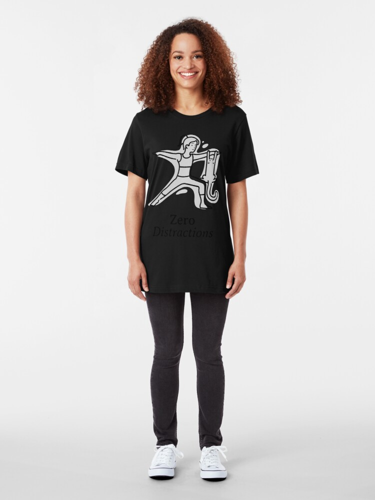 Alternate view of Zero Distraction Yoga Tee Slim Fit T-Shirt