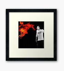 FireMan Framed Print