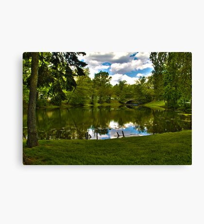 Staten Island Lake HDR Canvas Print