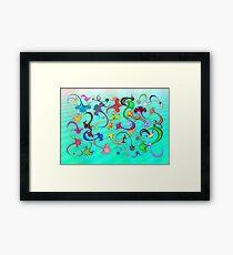 Anti-Viral Sea Framed Print