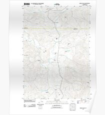 USGS Topo Map Oregon Kings Valley 20110831 TM Poster