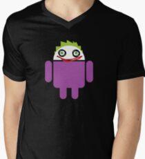 Jokeroid Men's V-Neck T-Shirt