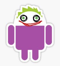 Jokeroid Sticker