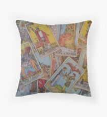 Tarot Time Throw Pillow