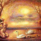"""Tsjaikovski Dream at Swan Lake"" by mileseca"