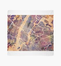 New York City Street Map Scarf