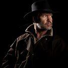 Man Tracker (Cowboy on horseback) by RandiScott