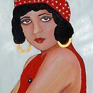 Sabine in a Red Hat by Rachel Ireland Meyers