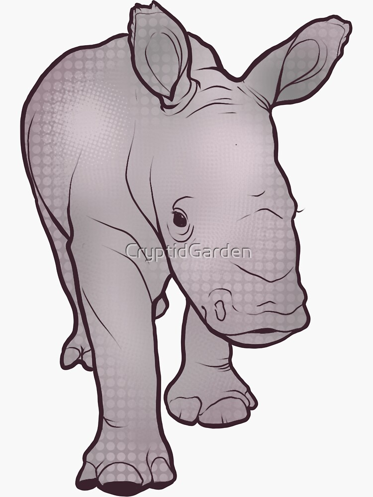 Rhino Baby by CryptidGarden