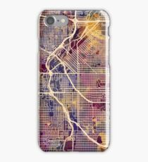 Denver Colorado Street Map iPhone Case/Skin