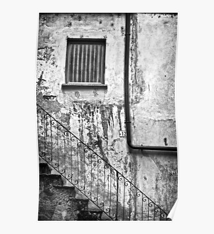 Stairs :: Window :: Drainpipe Poster