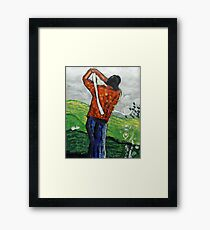 Look out! Framed Print