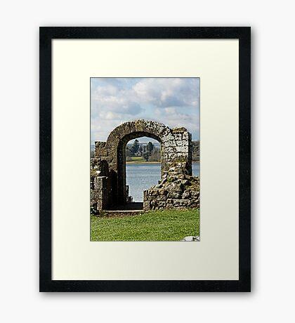 Viewing Through Framed Print