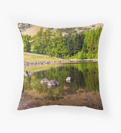 Reflections - Blea Tarn Throw Pillow