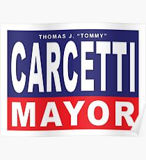 Carcetti for Mayor Poster