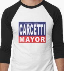 Carcetti for Mayor Men's Baseball ¾ T-Shirt