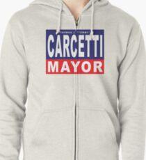 Carcetti for Mayor Zipped Hoodie
