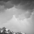 Mammatus Over Howling Wolf, The Tetons by A.M. Ruttle