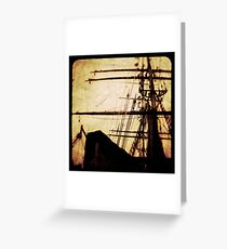 Maiden Voyage Greeting Card