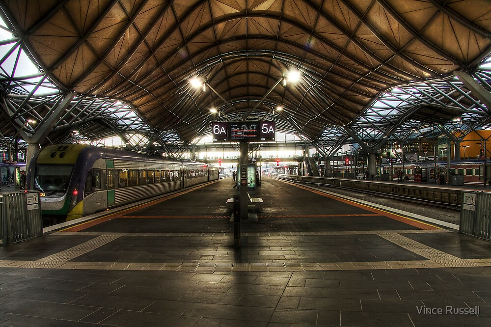 Southern Cross Station  HDR by Vince Russell
