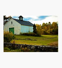 Exeter New Hampshire Farm Photographic Print