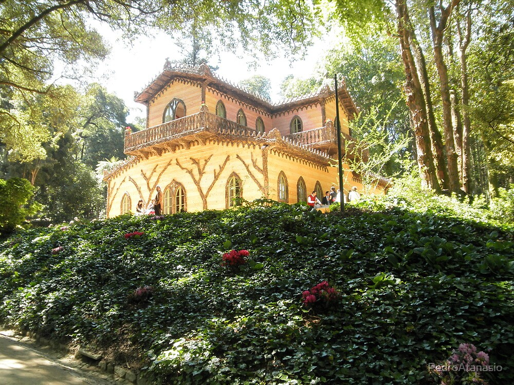 The Chalet of Countess d'Edla – Pena Park of Sintra - Portugal by PedroAtanasio